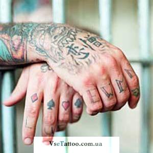Татуировки тюремных заключенных примеры и фото