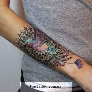 татуировки с птицами