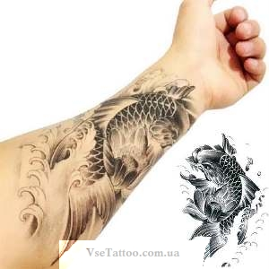 татуировки рыб