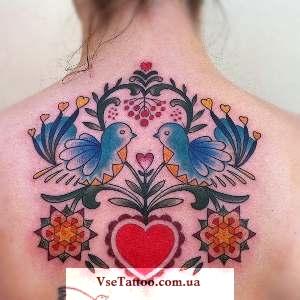 народные татуировки