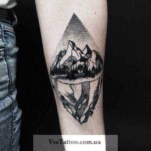татуировки с изображением природы