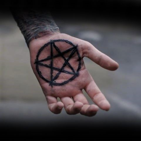 пентаграмма тату значение и фото