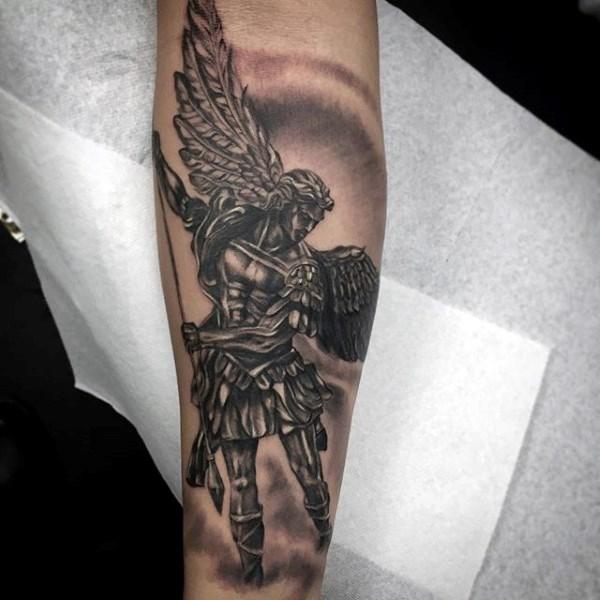 татуировка ангела-хранителя фото